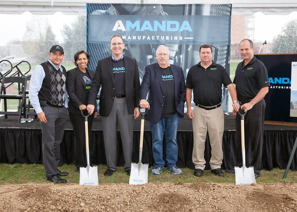 Amanda Manufacturing Expansion Groundbreaking